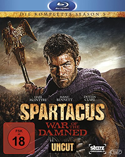 Spartacus: War of the Damned - Die komplette Season 3 - Uncut [Blu-ray] -