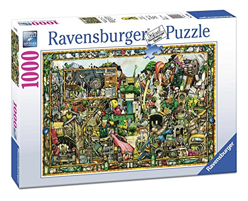 Ravensburger 19760 - Puzzle Colin Thompson I Tesori di Una Volta, 1000 Pezzi