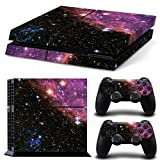 Mcbazel Pattern Series Decals Vinyl Skin Sticker for PS4 (Galaxy)