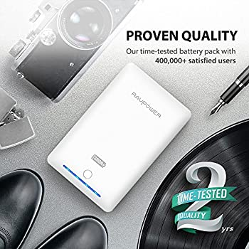 Portable Charger Ravpower 16750mah Power Bank External Battery Pack With Most Powerful 4.5a Output & Ismart Technology - White 1