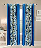 Optimistic Home Furnishing- -Dusr -Door Curtain-(set of 2)