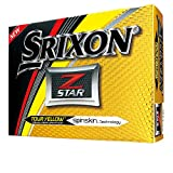 Srixon Z Star Bolas 4 Capas de Golf, Unisex Adulto, Amarillo, M