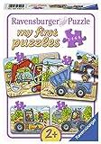 Ravensburger 06946 - Meine liebsten Baustellenfahrzeuge, my first puzzles 2,4,6,8 Teile