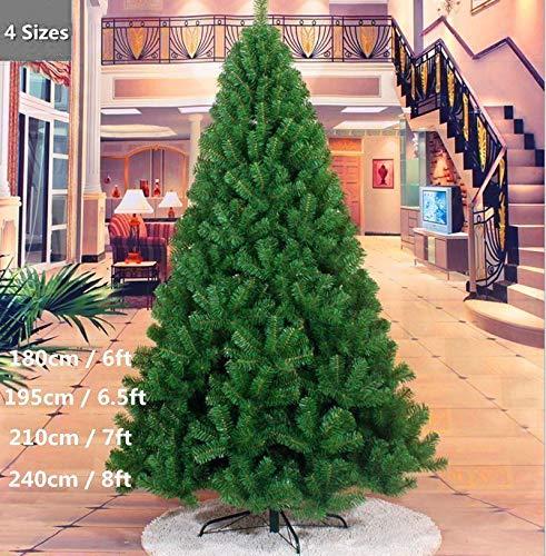 FLORICA ONLINE Árbol de Navidad clásico Artificial, 210 cm, Color Verde, 210 cm