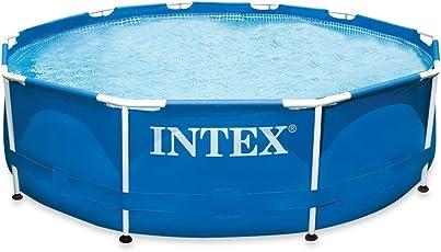 Intex Aufstellpool Frame Pool Set Rondo, ohne Filterpumpe, blau