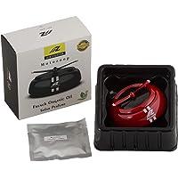 MOTOZOOP® OEM Patened UV Coated - Solar Energy Rotating Car Perfume, Feel-Good Premium Innovative car Air freshener (RED…