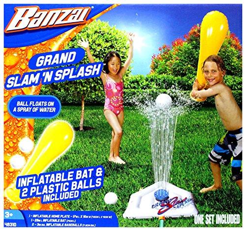 Banzai 48310 Garden Toy Water Slide by Grand-Slam-Baseball Wasserrutsche