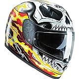 Casque moto HJC FG-ST pour tête entière - motif Marvel Ghost Rider édition limitée