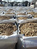UK Gravel Play Bark Chip Wood Chippings 1m3 1000L Bulk Bag FREE DELIVERY