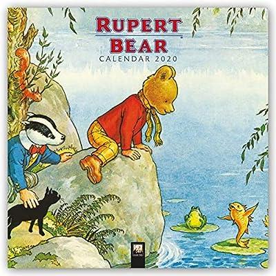 Rupert Bear Wall Calendar 2020 (Art Calendar)
