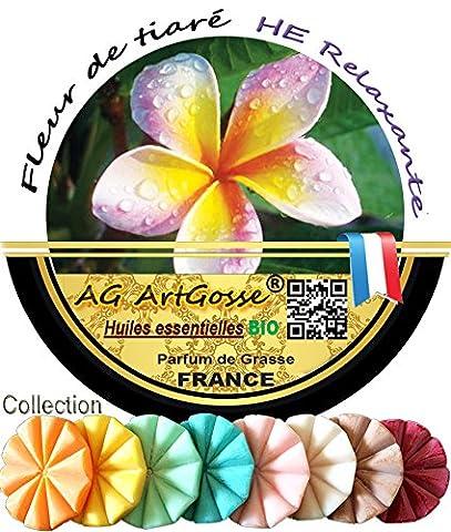 Aromathérapie Relaxante BIO Tartelette FONDANT - Fleur de