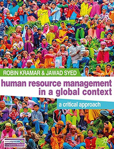 Human Resource Management in a Global Context : A Critical Approach
