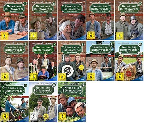 Neues aus Büttenwarder Staffel 1-13 (1+2+3+4+5+6+7+8+9+10+11+12+13, 1 bis 13) Folgen 1-85 [DVD Set]