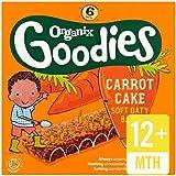 Organix Goodies Barre De Céréales De Gâteau Aux Carottes Bio 6 X 30G -