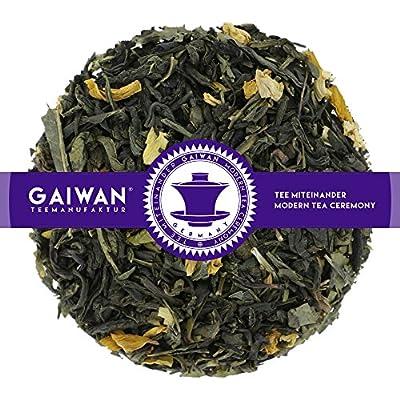 """N° 1403: Thé vert """"Sencha à la mangue et au fruit de la passion"""" - feuilles de thé - GAIWAN® GERMANY - Chun Mee, Sencha de Chine, tournesol"""