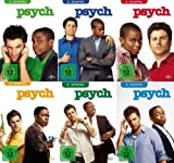 Psych Staffel 1-6 (24 DVDs)