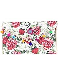 Rajasthani Jaipuri Bohemian Art Sling Bag Foldover Purse - B07FMWGLN1