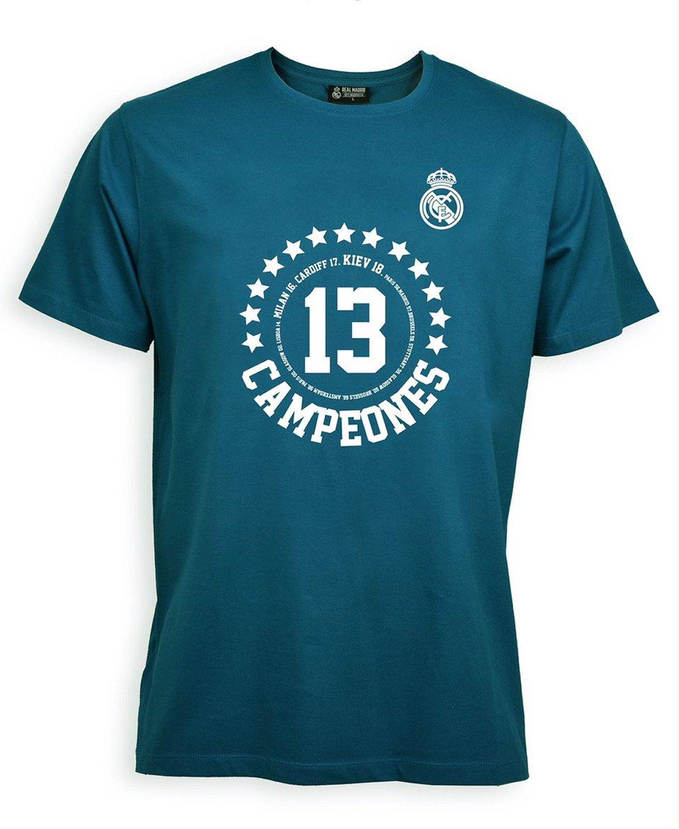 Camiseta Adulto Campeones Kiev 2018 – Real Madrid Oficial d9dae9281340c