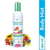 Mamaearth Perfume Body Mist for Babies and Kids with Allergen Free Tropical Garden Fragrance for All Day Freshness 150 ml