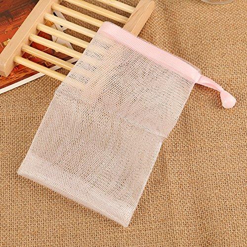 Körper Net (Handgemachte Seifenblase Schaum Nets Seifenblase Meshes Blase Meshes Tasche Körper- und Gesichtsreinigungswerkzeug / 5 PCS)
