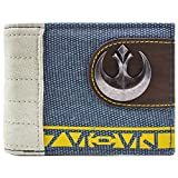 Cartera de Star Wars Rogue Un símbolo rebelde Azul