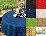 d-c-fix Gartentischdecke Tischdecke 110 x 140cm eckig abwaschbar wetterfest rutschfest geruchsneutral Tischdeko für draußen Outdoor Garten Camping verschiedene Farben