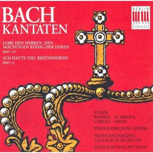 """Ich hatte viel Bekümmernis, BWV 21: No. 6, """"Was betrübst du dich, meine Seele"""""""