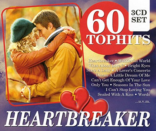60 Top-Hits - Heartbreaker: Love Hurts / No Woman No Cry, Baker Street / Sittin' On The Dock Of The Bay / Alone, amo! -