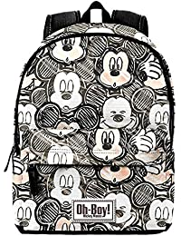 KARACTERMANIA Mochila Mickey Disney Oh Boy 42cm