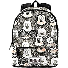 KARACTERMANIA Mochila Mickey Disney Oh Boy 42cm
