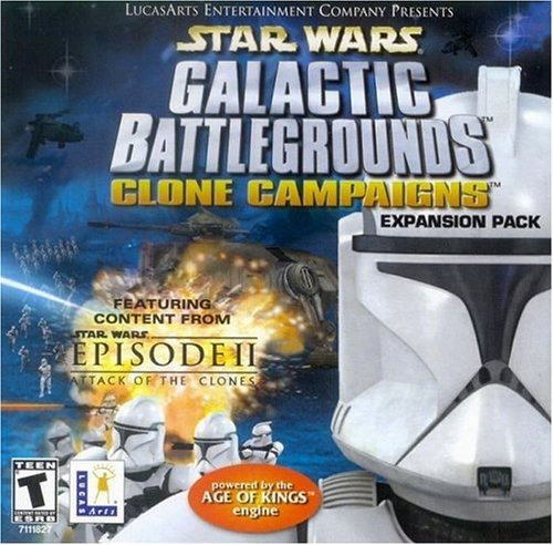 Star Wars : Galactic Battlegrounds Clone Campaigns (Add on) [FR Import]