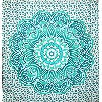 kesrie Wall Hanging Tapestry Grande Mandala Lotus Stampa