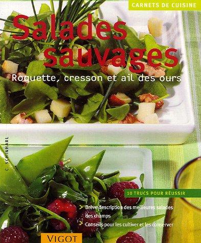 Salades sauvages : Roquette, cresson et ail des ours