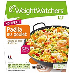 Weight Watchers - Marie Paëlla au poulet fruits de mer et citron Weight Watchers 300g