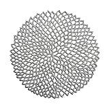 Zeller Platzset, PVC, Silber, 38 cm
