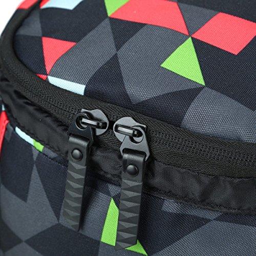 Rucksack Frauen Outdoor-Sport Und Freizeit Multi-Pocket-Reisetasche Redgrid