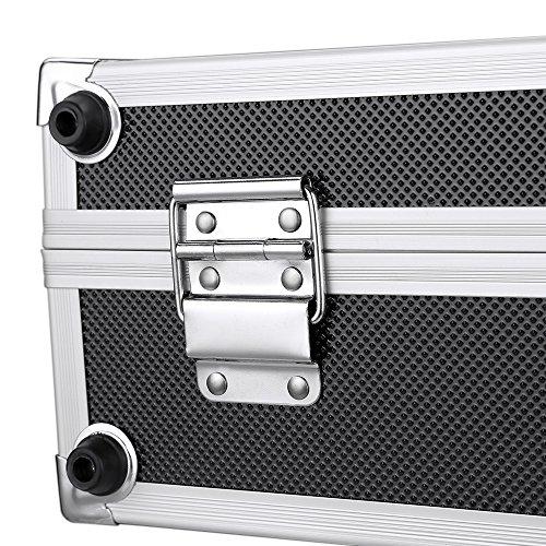 iKayaa 3er Set Transportkoffer Werkzeugkoffer mit Aluminiumrahmen und ABS - 10