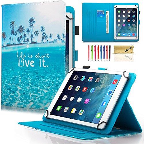 Dteck Schutzhülle für Samsung Galaxy Tablet, Apple iPad, Amazon Kindle, Google Nexus & weitere 16,5-26,7 cm (6,5-10,5 Zoll) Tablet 05 Live It for 7.5-8.5 inch Tablet