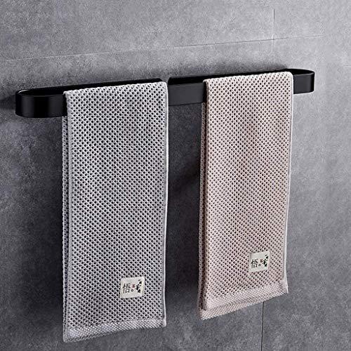 Amerikanischen schwarzen Handtuchhalter einpolig Bad Anhänger Handtuchhalter Handtuch Ring Handtuchhalter (Size : 30cm) -