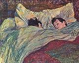 1art1 90962 Henri De Toulouse-Lautrec - Das Bett, 1893