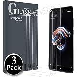 Ferlinso [3 Pack Panzerglas für Xiaomi Redmi Note 5, Schutzfolie Panzerglas Gehärtetes Glas Displayschutzfolie mit Lebenszeit Ersatzgarantie für Xiaomi Redmi Note 5 (Transparent)