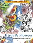 Adult Coloring Book: Birds and Flower...