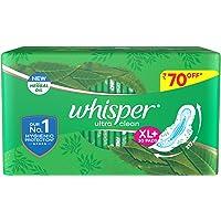 Whisper Ultra Clean Sanitary Pads for Women, XL+ 30 Napkins
