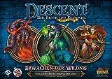 Fantasy Flight Games FFGD1329 Descent 2. Ed. -Erwachen der Wildnis