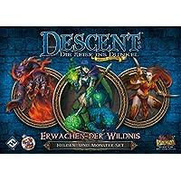 Fantasy-Flight-Games-FFGD1329-Descent-2-Ed-Erwachen-Der-Wildnis