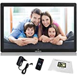 Miracle Digital Widescreen Digital Photo Frame with High Resolution Alarm Clock MP3 MP4 Movie Player, Remote Control. 10…