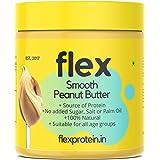 Flex Protein Unsweetened Smooth Peanut Butter Natural 1kg (Non-GMO / Gluten Free)