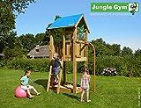 JUNGLE GYM Spielturm Jungle CASTLE mit Rutschstange, Komplettbausatz