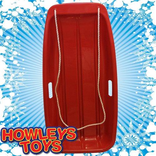 Snow Speeder Luge en plastique-Rouge ou bleu (un fourni)