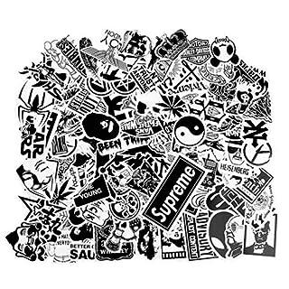 100pcs Aufkleber für Skateboard Snowboard Wasserdicht Weinlese Vinylaufkleber Graffiti Laptop Gepäck Auto Fahrrad Koffer Kühlschrank stickerbomb Decals Mischen Lot Art und Weisekühler